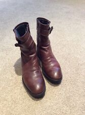 G-Star Raw Ladies Brown Boots Size UK 6
