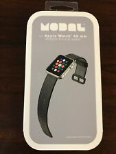 NEW Modal Black 42 mm Nylon Woven Apple Watch Replacement Band - FREE SHIPPING