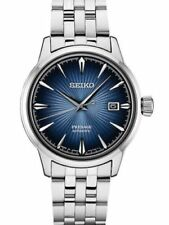 Seiko Men's Presage Cocktail Bluemoon Automatic Watch Stainless SRPB41