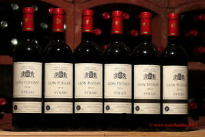 12 Flaschen 2014er Lion Puissant, reinsortiger Syrah Rotwein, jetzt großartig !
