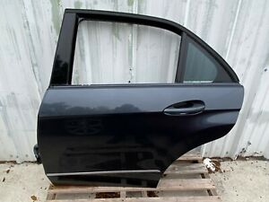 10-13 MERCEDES BENZ W212 E350 SEDAN LEFT DRIVER REAR DOOR SHELL USED OEM