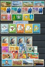 BOTSWANA - 54 STAMPS + 1 M.S. - SMALL COLLECTION M.N.H. WITH TOPICS       Hk944c