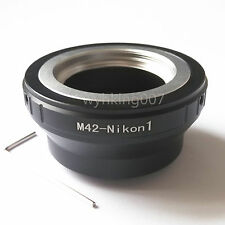 Adjustable M42 screw Lens To Nikon 1 J4 S2 V3 J3 J2 J1 S1 V2 V1 AW1 Adapter TOOL