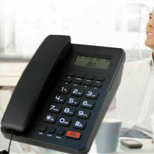 Home Desk Corded Landline Phone Telephone Handset LCD Caller ID US