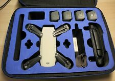 DJI Spark Quadcopter and Controller Combo + 4 Batteries / 2 Cases / Charger
