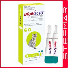 Bravecto Spot-on for Cats 1.2-2.8kg 2Pk