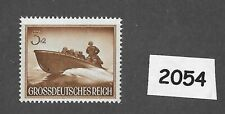 MNH stamp / 1944 /  PF03 + PF02 / Military Assault Boat Wehrmacht / WWII Germany
