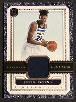 Justin Patton Rookie RC 2017 Cornerstones Building Blocks #BBJP Minnesota