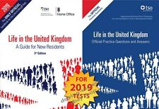 Life in the UK United Kingdom 2019 - 2 Book Set British Citizenship Test