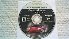 Project Gotham Racing -- Platinum Hits (Microsoft Xbox, 2001)