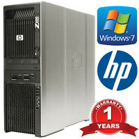 HP Workstation Z600 2x Xeon E5649 Hex Core 2.53GHz 12-Core 48GB DDR3 RAM 4TB HDD