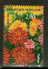 STAMP / TIMBRE FRANCE NEUF N° 2910 ** SALON DU TIMBRE DAHLIAS