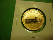 2010 Canada, 1 dollar, specimen loonie only from baby lynx specimen set.