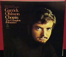 GARRICK OHLSSON Chopin: The Complete Polonaises 1973 ANGEL Double Album