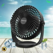 Table Fan Air Circulator Personal Desk Usb Rechargeable Battery Cooling Portable