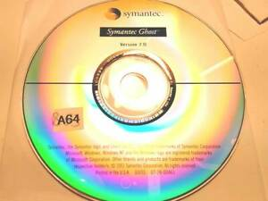 Symantec Ghost Version 7.0 for Windows