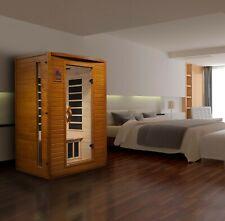 Dynamic 2 Person Far Infrared Sauna Versailles 6 Carbon Panels Low Emf