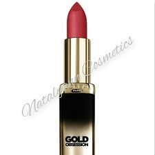 L'Oreal Color Riche Collection -Gold Lipstick in Reds , Roses, Nudes FREE POST