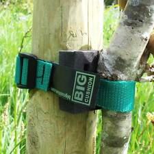 """5-pack of 45cm (18"""") Ladderlock Buckle Tree Ties Support Foam Spacer GREEN"""