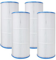 4 Pack Pool Spa Filters - Fits Pleatco PA56L - Hayward SwimClear C2030 17 3/8''