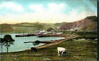 Dunfermline landscape postcard Scotland Chromette antique Raphael Tuck & Sons