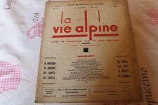 LA VIE ALPINE 6  revue du régionalisme dans les alpe française 1928