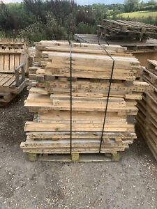 Reclaimed Pallet Wood Bearers Flooring/Panelling/Firewood  Price per 50 Pieces