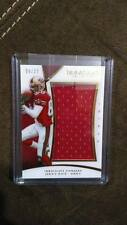 JERRY RICE 2015 IMMACULATE 49ERS GAME-USED JUMBO JERSEY PATCH /25 GOAT EBAY 1/1!