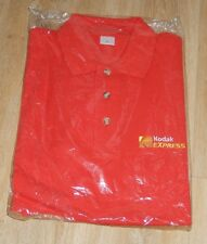 Ancien POLO KODAK Express rouge - Vintage 80' - Taille L - 100% Coton - NEUF