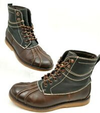 Men's SONOMA Goods For Life SHERMAN Brown Casual DUCK BOOTS US Size 8 M