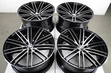 "19"" Stagger Black Wheels Rims 5x112 Fit Mercedes Benz CLK SLK AMG C230 C280 C350"