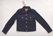 Levi's Classic Trucker Jacket Women's Blue Denim Jean Jacket Cotton Size XS