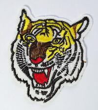 Tiger cat puma jaguar lion cheetah animal wildlife applique iron on patch