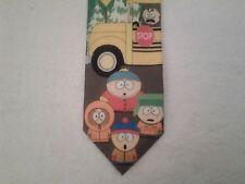 Tie Novelty Cartoon South Park School Bus Stop