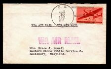 1941 US Navy Airmail Cover  - L9828