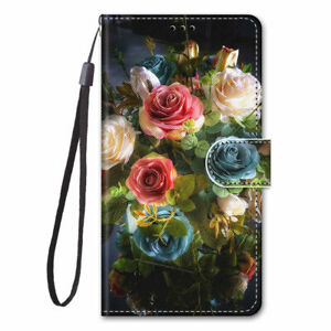 For iPhone 12 11 Pro XS MAX XR SE2 8 7 6 Plus Pattern Leather Wallet Case Cover