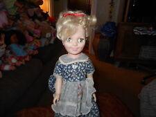 """Vintage Miss Sunbeam 17"""" Eegee Vinyl Advertising Doll Original Dress, & Shoes"""