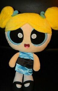 "PowerPuff Girls Plush BUBBLES Talking Doll Spin Master Cartoon Network 12"""