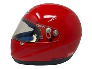 Nolan Motorsport Karting Helmet Medium Used Once Blue Nomex F1 Vodafone McLaren