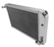 1977-1982 Chevy Corvette Radiator 4 Row CHAMPION Aluminum Radiator MC718