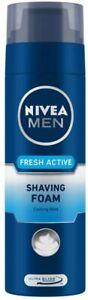 NIVEA MEN Shaving, Fresh Active Shaving Foam, 200ml pack of 1