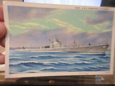 Other Old Postcard Boat Ship Military Battleship Uss Submarine Sturgeon Pacific