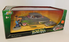Jada Toys ROAD RATS 1:24 & 1:64 Scale '53 CHEVY BEL-AIR 2 Car Set with FIGURE