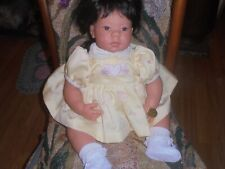 """New listing Vintage 22"""" Oriental ? Lee Middleton Doll By Reva Schick Original Clothes great"""