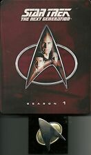 Star Trek Next Generation Season 1 Blu-Ray Deutsche Ausgabe Steelbook Lit. Edit.