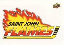 2014-15 Upper Deck AHL SAINT JOHN FLAMES Vintage Sticker #69