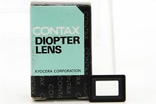 [UNUSED] Genuine Contax Diopter Lens FL 0 for RX/II Aria S2/b 167MT NX 28313