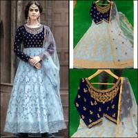 GOWN SALWAR KAMEEZ SUITS INDIAN WOMEN READY MADE  ANARKALI ETHNIC KURTI DESIGNER