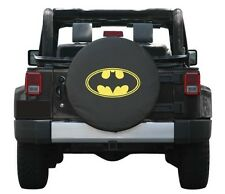 """SpareCover Universal Batman Logo Spare Tire Cover Wheel 32-33"""" New Free Shipping"""