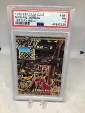 1993 Stadium Club #181 First Day Issue Michael Jordan PSA 7 Freshly Graded